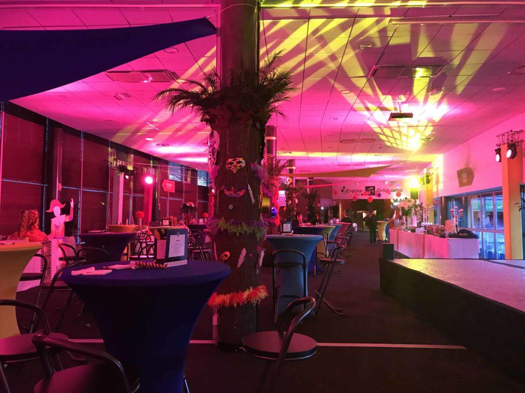 Photo de la soirée des partenaires de l'ASM au stade Marcel Michelin