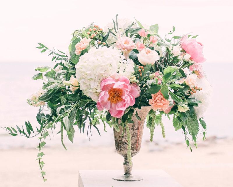 Photo composition florale Montrognon Traiteur