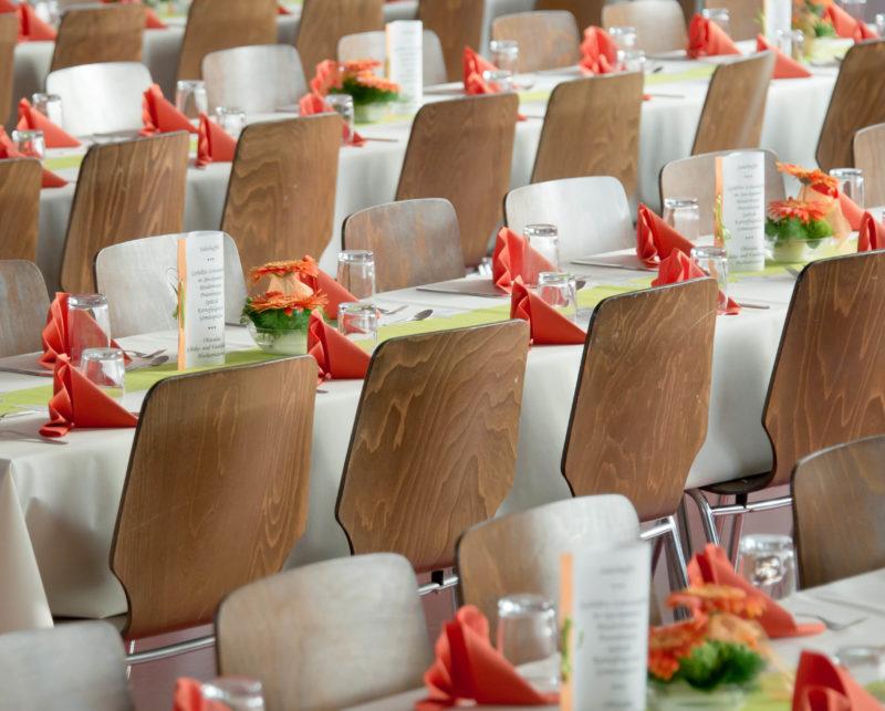 Photo salle de repas congrès Montrognon Traiteur